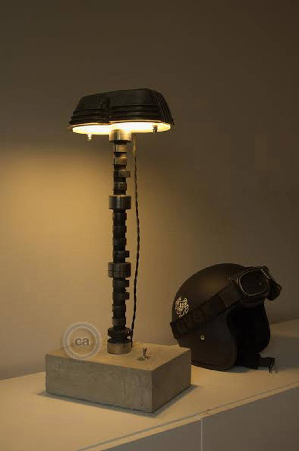 upcycling lampe