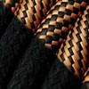 Schwarz mit optischem Kabel aus Schwarz und Kupfer