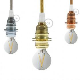 KreierenSie ihre Leuchte mit unseren Metallfassungen !
