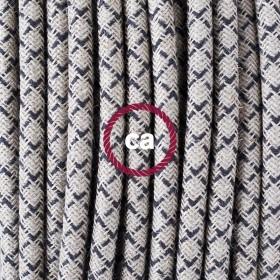 Raues Leinen und Baumwolle: entdecken Sie die neue Dekorationen für Ihre Designkabel
