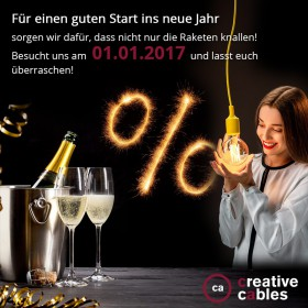 Happy New 2017 ! Überraschung 01.01.2017