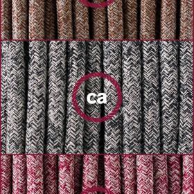 Verschönern Sie Ihre Installationen dank unseren Textilkabel mit Glitter-Anfertigung!