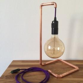 Tolle DIY Leuchte von Frau M.Stepper