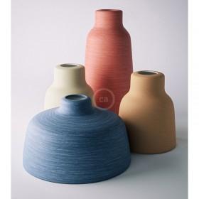Neue Lampenschirme Materia in Keramik