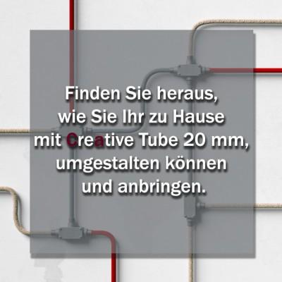 Finden Sie heraus, wie Sie Ihr zu Hause mit Creative Tube 20 mm, umgestalten können und anbringen.
