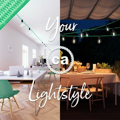 Lichterketten: Außenbeleuchtung, entworfen von Creative-Cables