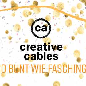 Creative-Cables - so bunt wie Fasching!