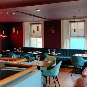 #BeCreative: Ein Restaurant aus Samt mit einem Hauch von Vintage